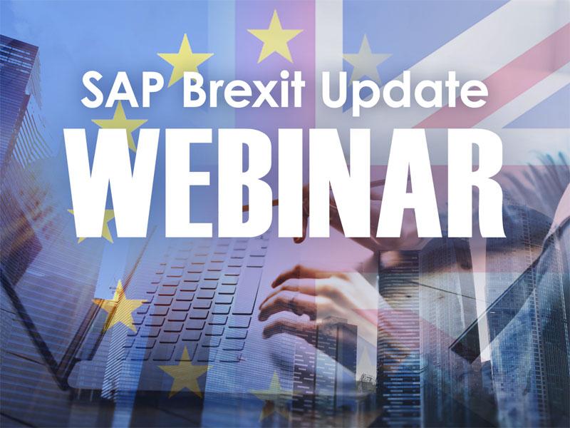 SAP Brexit Update Webinar - May 2021