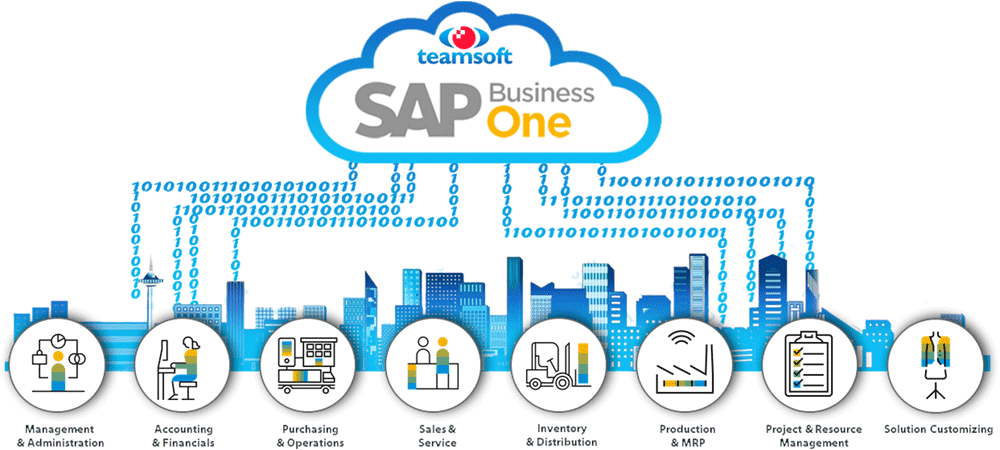Manage your entire business from anywhere with SAP Business One in the cloud from Teamsoft
